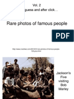Rare photos of famous people 2.pps
