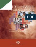 Etat de la Migration dans le Monde – Le Bien-Etre des Migrants et le Développement (OIM – 2013)