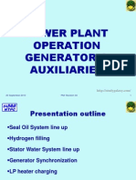 Generator and Auxiliaries