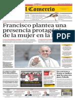 Francisco plantea una presencia protagónica de la mujer en la Iglesia