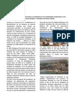VERS UNE STRATEGIE D'ADAPTATION A LA VARIABILITE ET AU CHANGEMENT CLIMATIQUES, ET DE REDUCTION DES RISQUES  Y AFFERENTS EN MILIEU URBAIN (ONU-HABITAT – 2013)