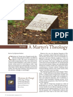 Martyr's Theology