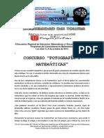Concurso de Fotografia y Matematicas