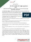 The Biography of Sa'd ibn Mu'aadh – radiyallaahu 'anhu
