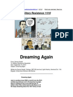 Military Resistance 11I10 Dreaming Again[1]