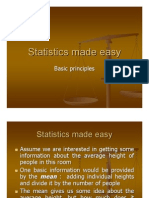 Statistics Made Easy-Basics