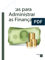 eBook Dicas Para Administrar as Financas