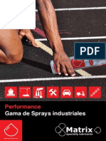 Gama Sprays Industriales Matrix