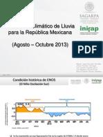 Pronostico INIFAP 2013