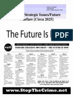 Nasa 2025 The Future of War