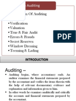 Auditing New