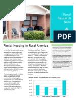 Rental Housing in Rural America