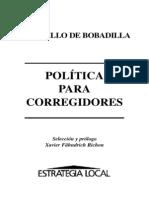 Castillo de Bobadilla, J_Política para Correjidores.pdf