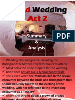 Blood Wedding Act 2 Analysis