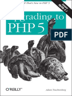 Upgrading to PHP5