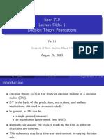 Econ 710 - Lec1 Preference