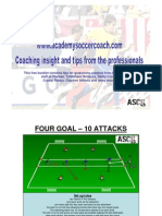Academy Soccer Coach Sessions