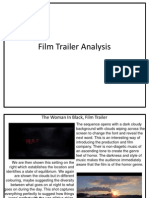 Film Trailer Analysis