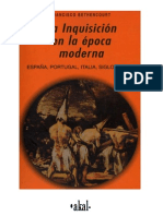 Francisco Bethencourt. La Inquisición en la época moderna