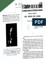 Roso de Luna, Mario - El Caballero de La Luz Astral