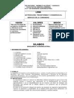 silabo Bioquimica