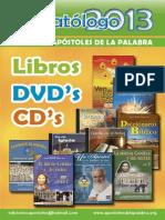 Catálogo 2013 APOSTOLES DE LA PALABRA