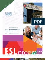 ESL International Program Brochure CH