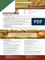 Church Bulletin for September 20 & 22, 2013