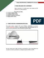 Pasos Para Enlazar Dvr a Internet