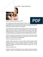 Infección genital por VPH