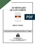 Brian Weiss - Los Mensajes de Los Sabios
