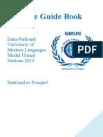 Delegate Guide Book