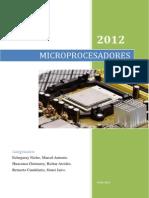 TRABAJO Microprocesador
