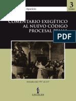 COMENTARIO EXEGÉTICO AL NUEVO CÓDIGO PROCESAL PENAL (Tomo 3)