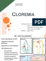 presentacion Cloremia