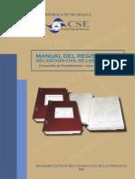 Acosta Guillen - Manual Del Registrador Del Estado Civil de Las Personas