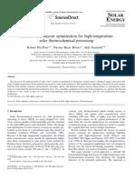 2011 Pitz-Paal Heliostat-Field Optimization Termochemical