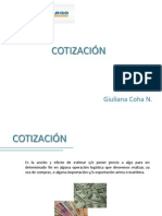 COTIZACIÓN - GIULIANA