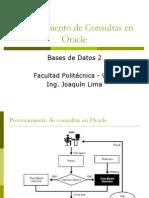6 Procesamiento de Consultas en Oracle