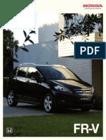 Honda Fr-V Catalogo