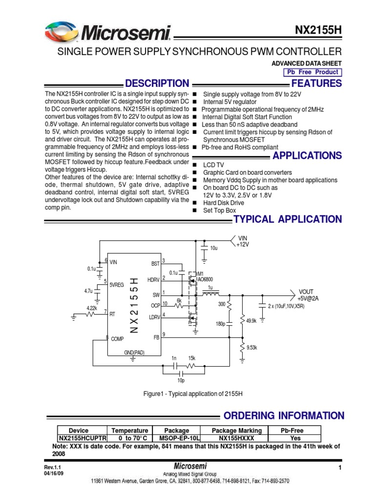 Nx2155hds Capacitor Mosfet M1b Condenser Wiring Diagram