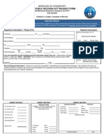 Oceanport OPRA Request Form