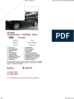 AutoSP - Mitsubishi Pajero Full - 5 Portas - 3.8v6 2008 - Automóveis