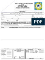 Orange Township OPRA Request Form