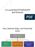Managing Equal Employment