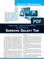 Desarme Galaxy Tab