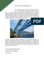 Campos de Accion Del Ingeniero Civil