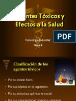 4-Agentes y Efectos a La Salud