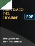 ALBA-RICO, S., El Naufragio Del Hombre