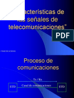 Características De Las Señales De Telecomunicaciones